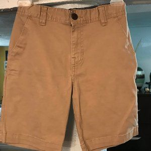Wonder Nation Boys Khaki Uniform Shorts